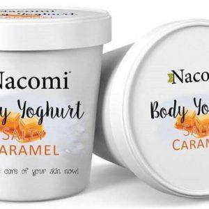 Nacomi jogurt do ciała o zapachu słonego karmelu 180 ml