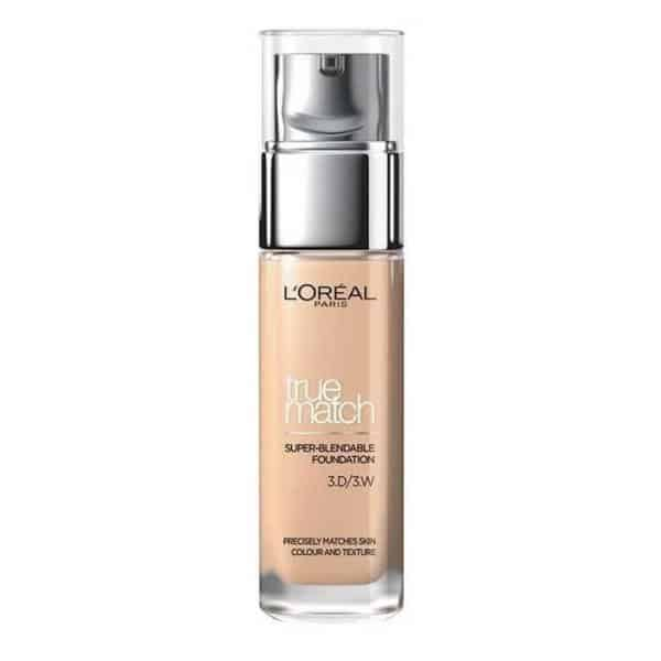 Loreal true match the foundation podkład d3 w3 golden beige