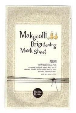 Holika holika maseczka pure essence mask makgeolli 20 ml